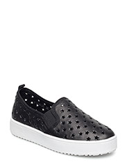 Loafer with star - BLK