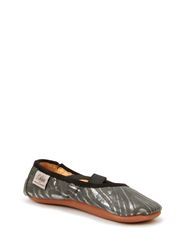 Textile indoor shoe - ZEBRA
