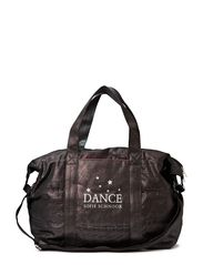 Dance canvas bag - antic silver