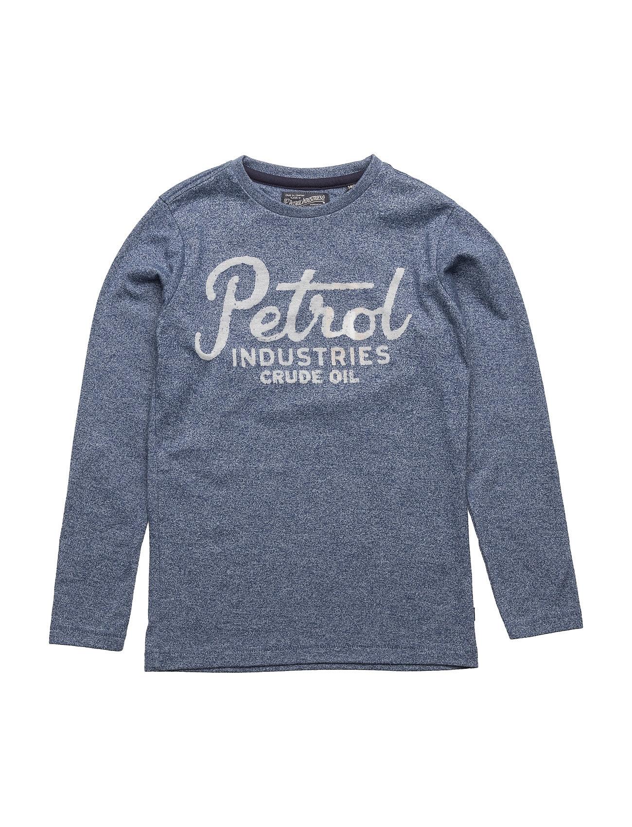 T-Shirt Ls R-Neck Petrol Langærmede t-shirts til Børn i
