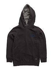 Sweat Hooded - BLACK NAVY