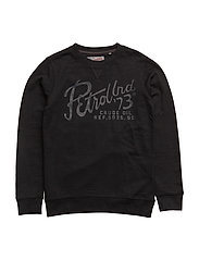 Sweat R-Neck - BLACK