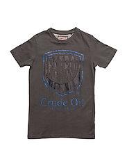 T-Shirt LS R-Neck - BURNT ORANGE