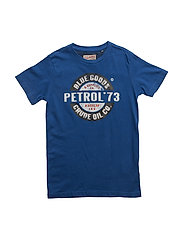 T-Shirt SS R-Neck - IMPERIAL BLUE