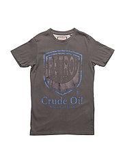 T-Shirt SS R-Neck - LIGHT STEAL