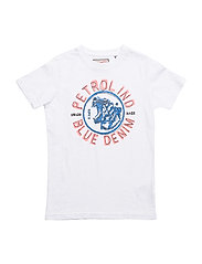 T-Shirt SS R-Neck - BRIGHT WHITE