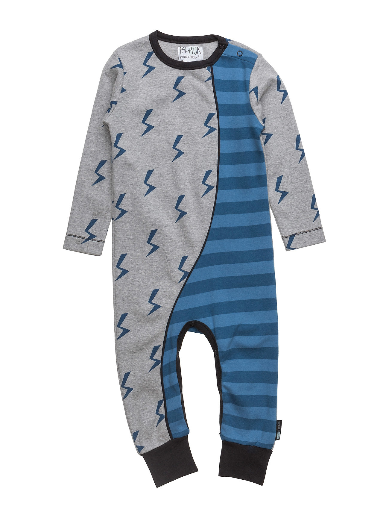 Kean Lightning Suit Phister & Philina  til Børn i Grey Melange