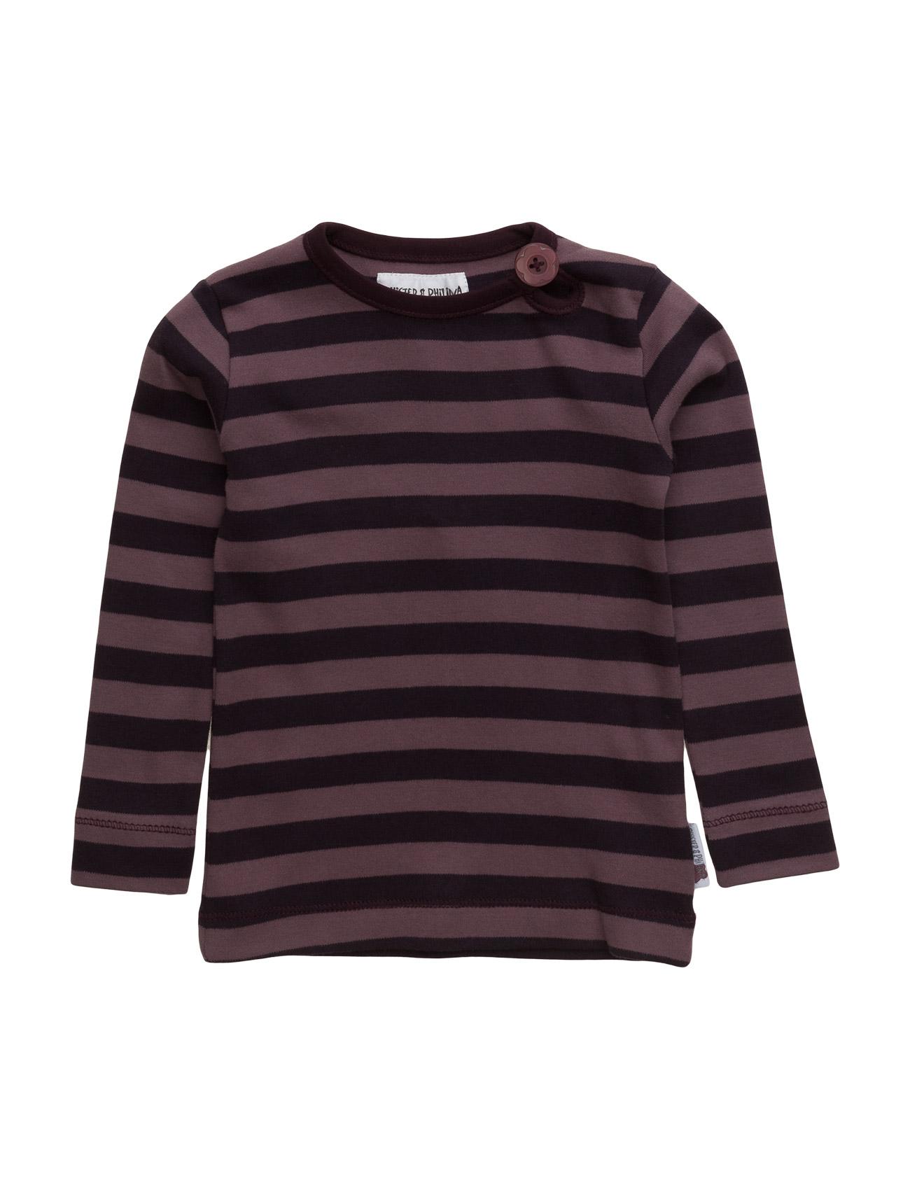 Benda Hist Top Phister & Philina Langærmede t-shirts til Børn i Minimal Grå