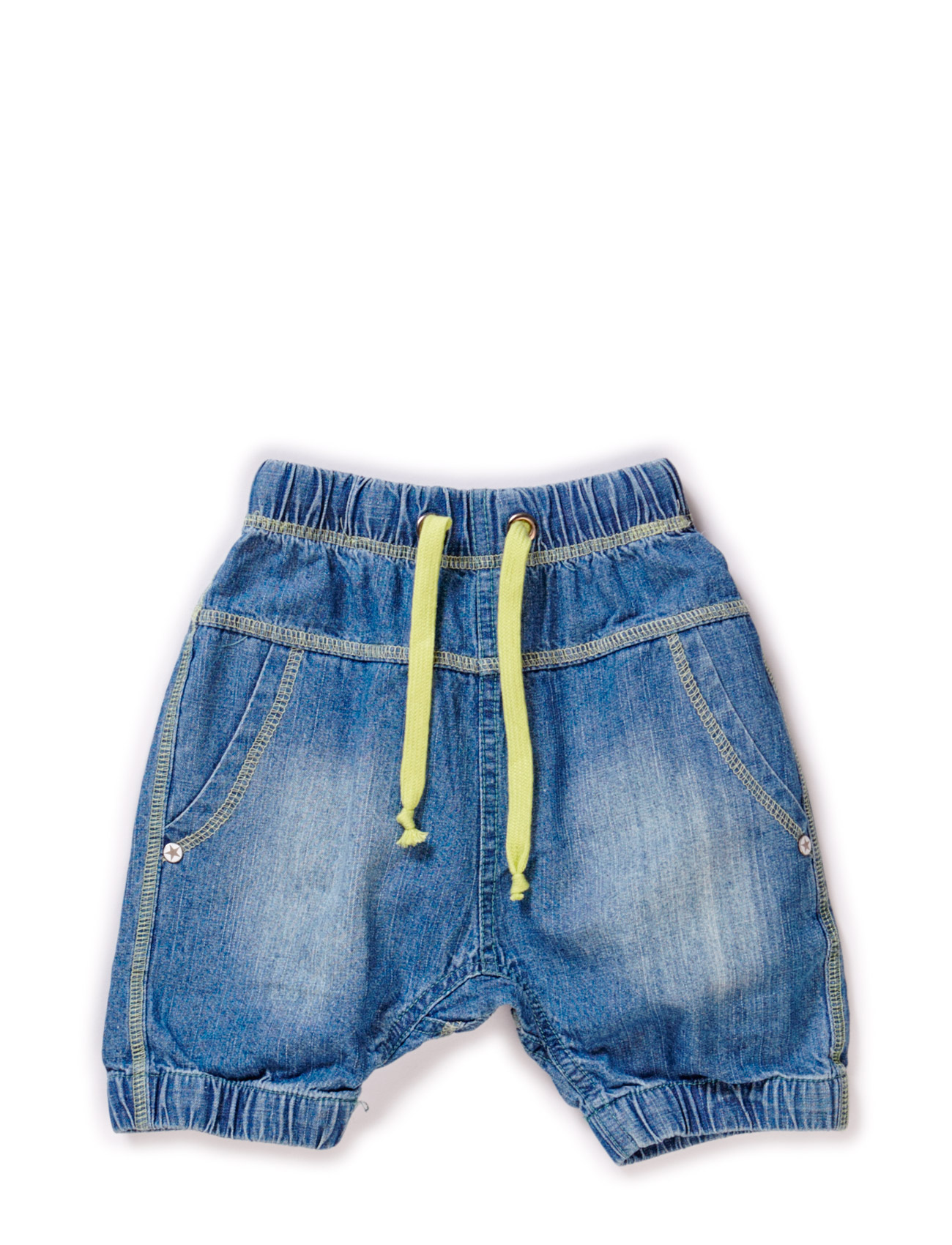 Wave Baby Boy Denim Shorts