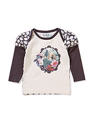COSY BABY TOP - WHITE SAND