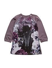 ROSA HORSE DRESS - DARK SHADOW
