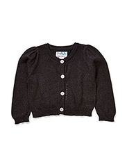 LOVE BABY CARDIGAN - Anthracite