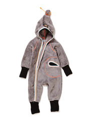 WARM BABY GIRL WHOLESUIT - Frost grey
