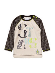 TRUE BABY BOY TOP - White sand