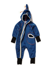 WARM BABY BOY WHOLESUIT - Dark blue