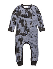 HECTOR FOREST SUIT - FLINT STONE