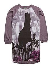 RUSH HORSE DRESS - DARK SHADOW
