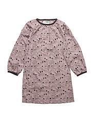 NIKKA LEAF DRESS - QUAIL