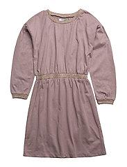 MAGGIE CLASH DRESS - QUAIL