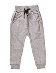 SHIMMER GIRL PANTS - Grey melange