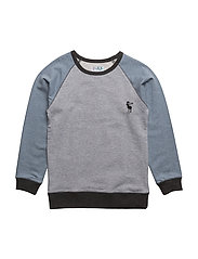 TIM TWIST SWEAT - GREY MELANGE