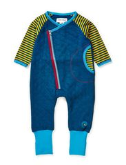 Quilt new born suit - Moroccan Blue