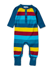 Lasse new born suit - Moroccan Blue
