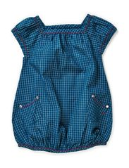 Spend baby dress - Moroccan Blue