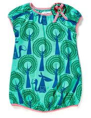 Raisin baby dress - Electric Green