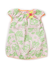 SARAH BABY GIRL DRESS - Pink lady