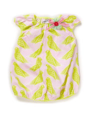 SARAH BABY GIRL DRESS - Wild lime
