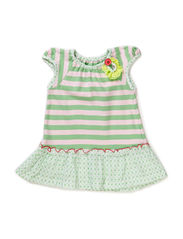 ZOE BABY GIRL DRESS - Spring bouquet
