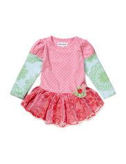 MERLE BABY GIRL DRESS - Prism pink
