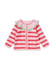 OLIVIA BABY GIRL CARDIGAN - Pink lady