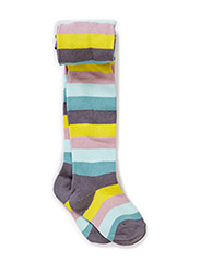 STRIPED BABY PANTYHOSES - Quiet shade