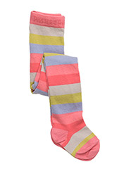 STRIPED BABY PANTYHOSES - CONCH SHELL