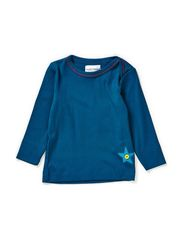Rent baby top - Moroccan Blue