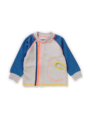 LUKE BABY BOY CARDIGAN - Denim blue