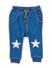 LUKE BABY BOY PANTS - Denim blue
