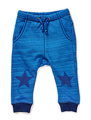 FUN BABY PANTS - Brilliant blue