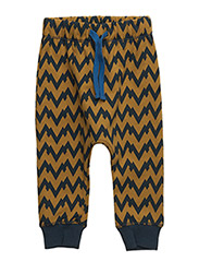 HARVARD ZAG PANTS - GOLDEN PLAM