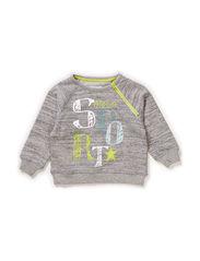 LUCAS BABY BOY SWEAT - Grey melange