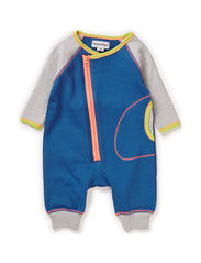 LUKE BABY BOY SUIT - Grey melange