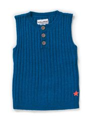 ODIN BABY VEST - Moroccan blue