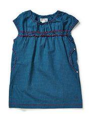 Spend mini dress - Moroccan Blue