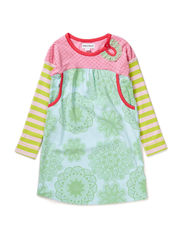 SOPHIA GIRL DRESS - Wild lime