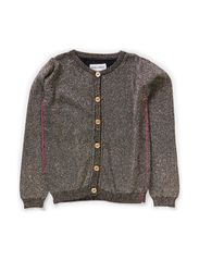 ROSA MINI KNIT CARDIGAN - Anthracite