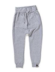 MOLLY BAM PANTS - Grey melange