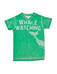 WHALE BOY T-SHIRT - Spring bouquet