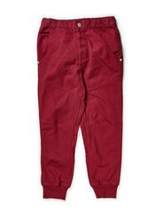 Tap boy pant - Red Plum
